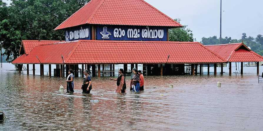 Periyar on the verge of overflowing; Aluva on high alert