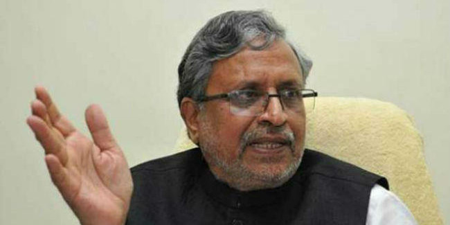 बिहार के छोटे करदाताओं को बड़ी राहत : सुशील मोदी