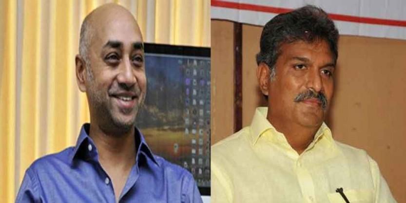 TDP MP Galla Jayadev meets MP Kesineni Nani