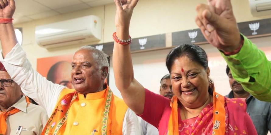Modi magic behind BJP sweep, says former RajasthanCMVasundhara Raje
