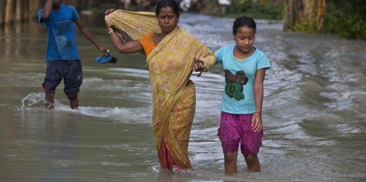 Trouble For Assam Flood Victims Deepen As They Return Home Amid Fears Of Encephalitis Outbreak