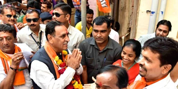 Vote for BJP, ensure nation is safe: Gujarat CM