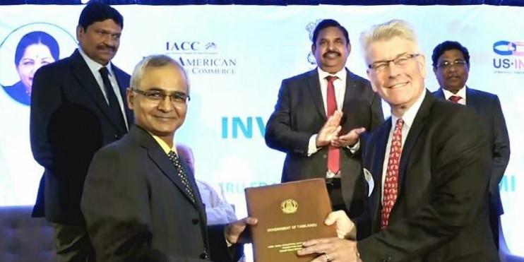 Tamil Nadu govt signs MoUs worth Rs. 2,780 crore at New York Investors' meet