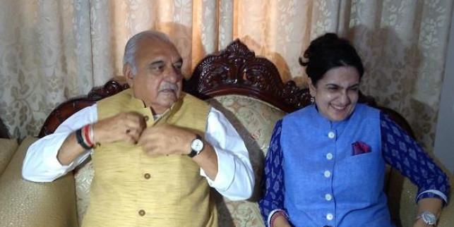 कांग्रेस मैनिफेस्टो कमेटी की दिल्ली में पहली मीटिंग के बाद हुड्डा की घोषणाओं पर पार्टी की रोक