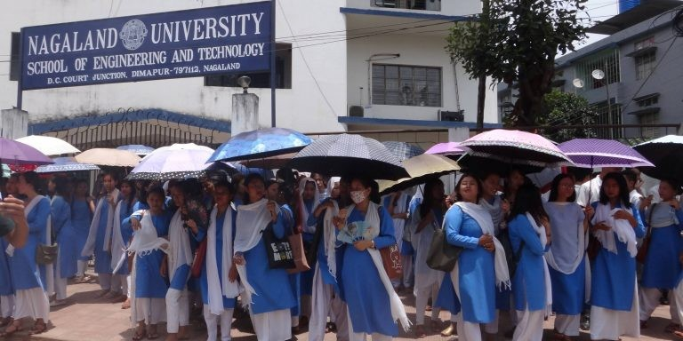 Nagaland college students' body to stage a hunger strike