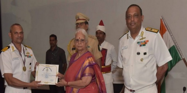 Valedictory ceremony of 31st Naval Higher Command Course held in Goa