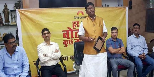 खूंटी सांसद अर्जुन मुंडा ने कहा- पूरी ईमानदारी से करूंगा काम, उम्मीदों पर खरा उतरुंगा