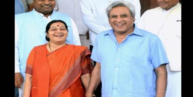 'Madam, I am running behind you': When Swaraj Kaushal thanked wife Sushma Swaraj