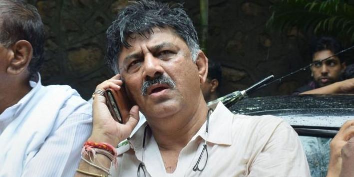 ED के सामने पेशी से पहले रो पड़े डीके शिवकुमार, BJP पर लगाया आरोप