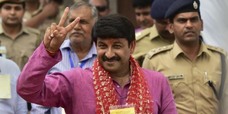 हम दिल्ली में 56 सीटें जीतेंगे: मनोज तिवारी