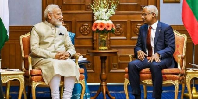 मालदीव ने प्रधानमंत्री मोदी को सर्वोच्च सम्मान से नवाजा
