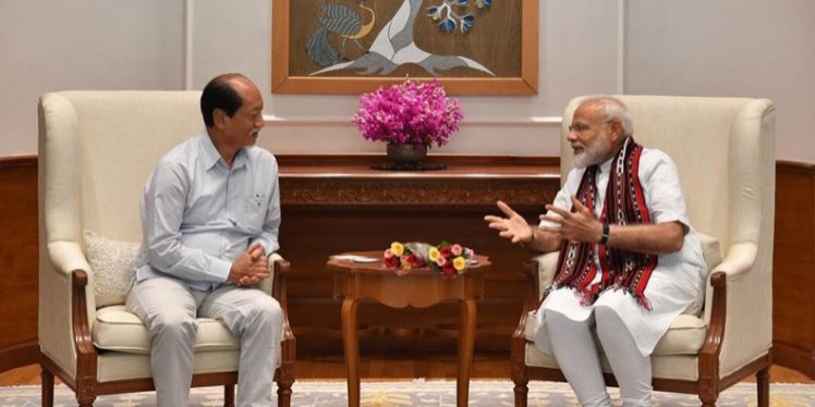 Rio urges Centre to expedite Greenfield Airport, Trans-Nagaland Highway projects