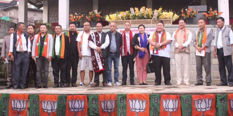 Setback for NPF in Nagaland, party unit merges with BJP