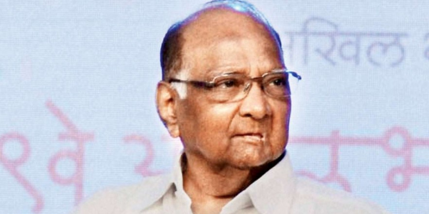 NCP not merging with Congress: Sharad Pawar
