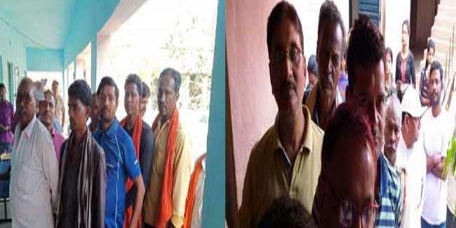 भाजपा ने 56 बूथों पर दर्ज कराई गड़बड़ी की शिकायत