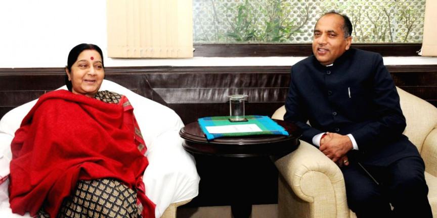 CM जयराम बोले-सुषमा स्वराज का दुनिया को अलविदा कहना अत्यंत दुखदायी