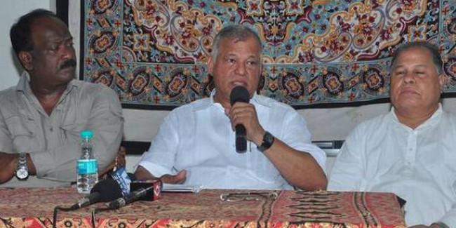 Congress Brings Back Luizinho Faleiro as Tripura in charge