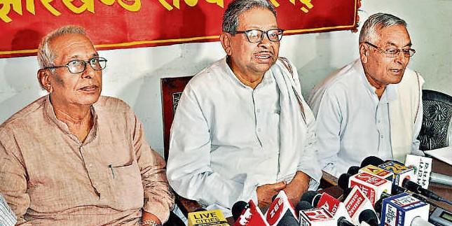 यह वाम दलों की हार नहीं इवीएम की जीत है : भाकपा