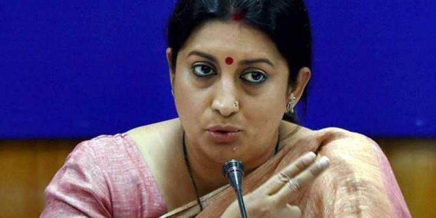 Clean chit to Odisha on workplace harassment, says Smriti Irani