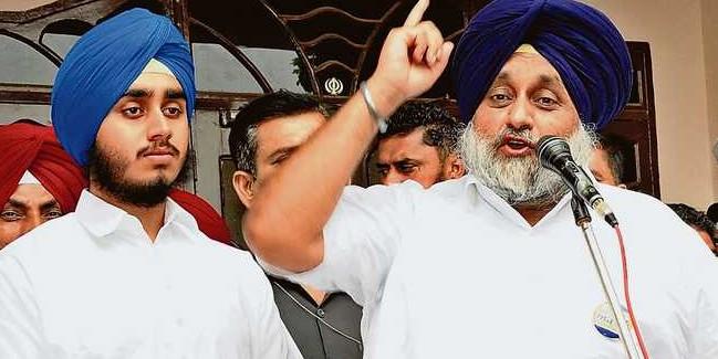Capt defending riots accused, says Sukhbir