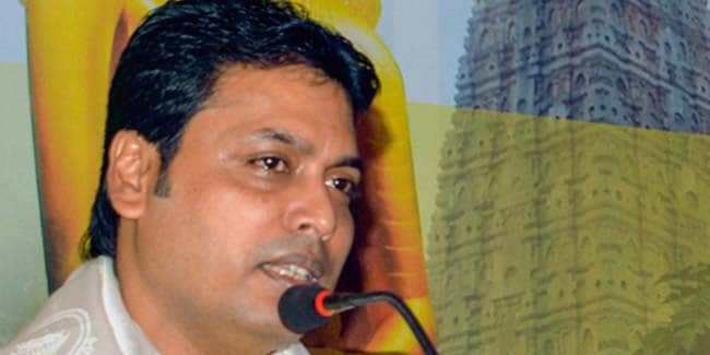 Biplab Deb Appeals For Peace Amid Incidents Of Political Violence In Tripura