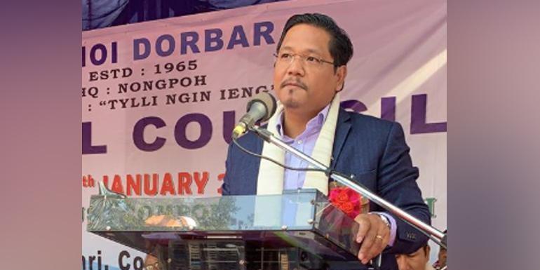 Meghalaya CM Conrad Sangma reaches Delhi to seek support against Citizenship Bill