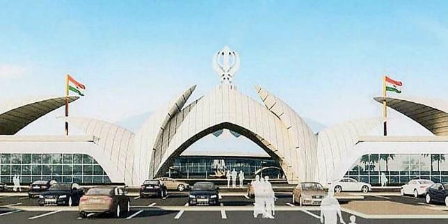 करतारपुर कॉरिडोर: पाकिस्तान ने दो गेटों का किया निर्माण, टर्मिनल के ऊपर स्थापित होगा खंडा और तिरंगा