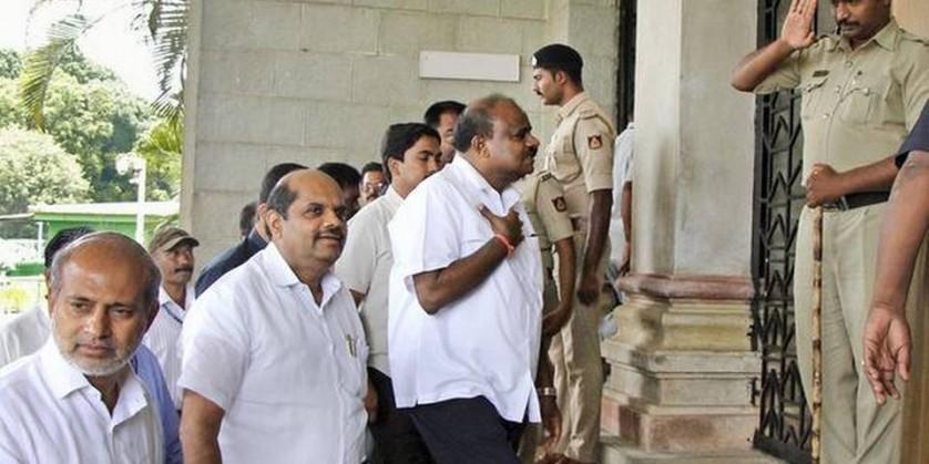 Karnataka CM Kumaraswamy says he will seek trust vote