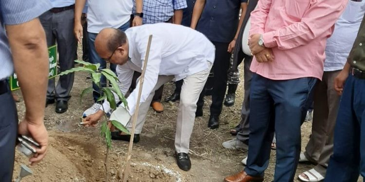 Manipur chief minister leads mass plantation drive at Kangla Fort