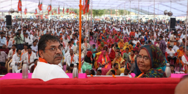 राजस्थान में कांग्रेस सरकार गलती से आई - सतीश पूनिया