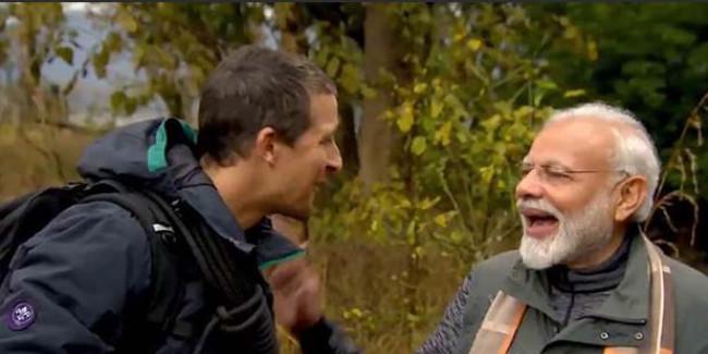 Man vs Wild: PM मोदी ने ग्रिल्स को बताया, साबुन के पैसे नहीं थे तो ओस की बूदों से धोए हाथ