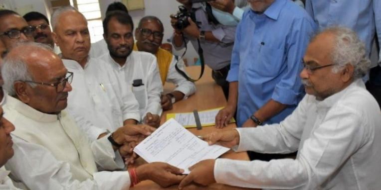बशिष्ठ नारायण सिंह तीसरी बार निर्विरोध चुने गए प्रदेश JDU अध्यक्ष, कही ये बात