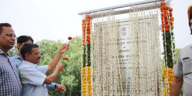 भाजपा ने केजरीवाल को 23 फ्लाईओवर बनाये जाने के दावे को साबित करने की चुनौती दी