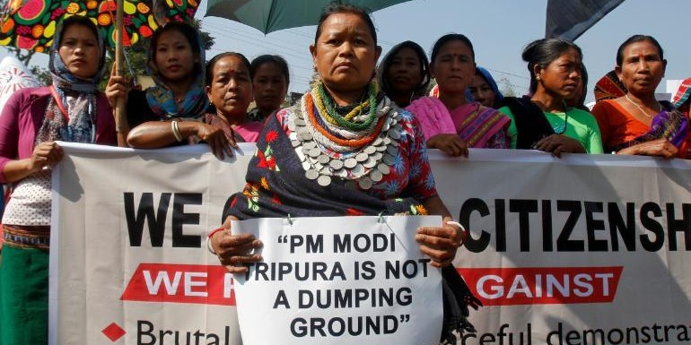 In Mizoram, Citizenship Bill could prove to be a poll twister