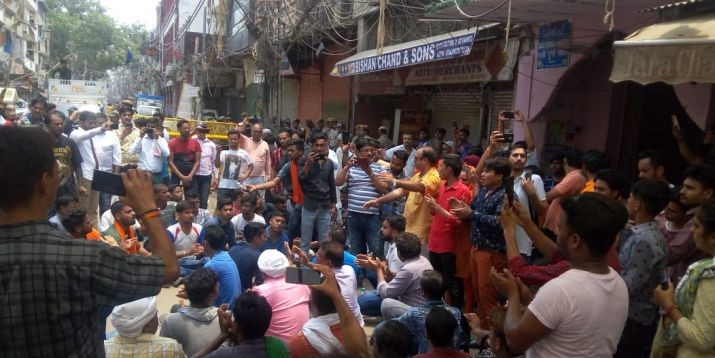 Chandni Chowk temple vandalised: Hindu outfits issue ultimatum to police as situation in Old Delhi remains tense