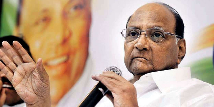 Sharad Pawar appeals to investigate fake messages
