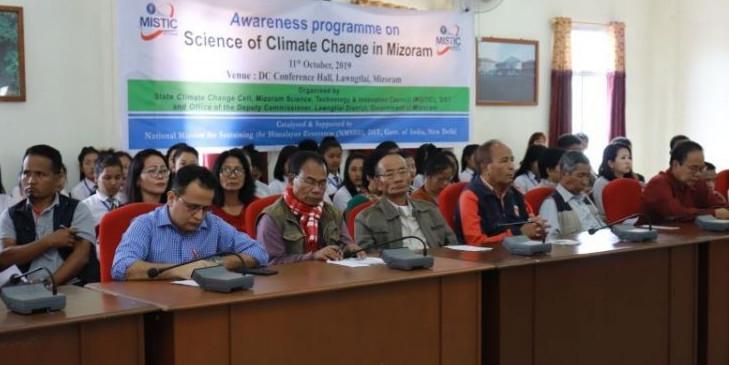 Mizoram hosts awareness programme on climate change