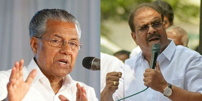 You shall call for him; K. Sudhakaran's reply to Pinarayi's 'Dash'