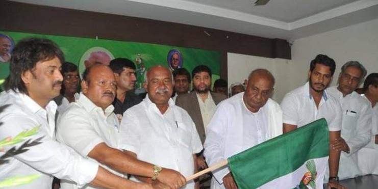 H.K. Kumaraswamy named Karnataka JD(S) chief