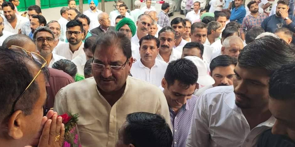 INLD leader Abhay Singh Chautala Holds a Meeting of the Party