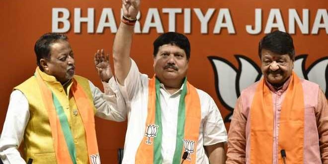 West Bengal MLA and TMC strongman Arjun Singh joins BJP