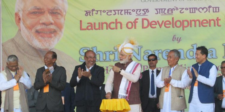 Modi vows to make NE development gateway of 'new India'