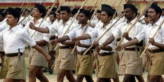 RSS' Role In ''Nation-Building'' Part Of Maharashtra University Syllabus