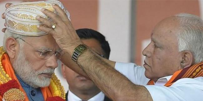 बीजेपी विधायक दल के नेता चुने जाएंगे येदियुरप्पा