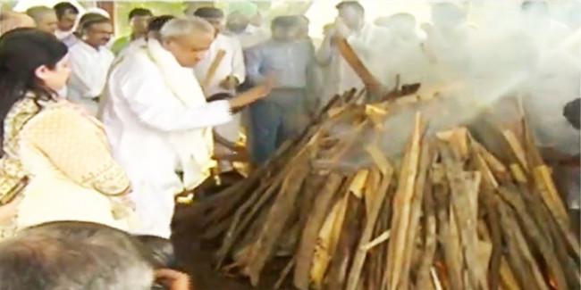अनंत में विलीन हुए अरुण जेटली, राजकीय सम्मान के साथ अंतिम विदाई