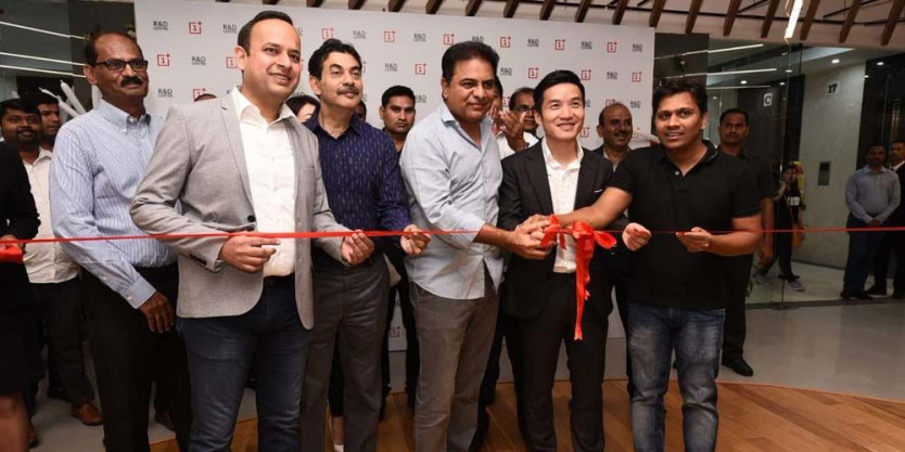 KTR launches OnePlus R&D centre in Hyderabad