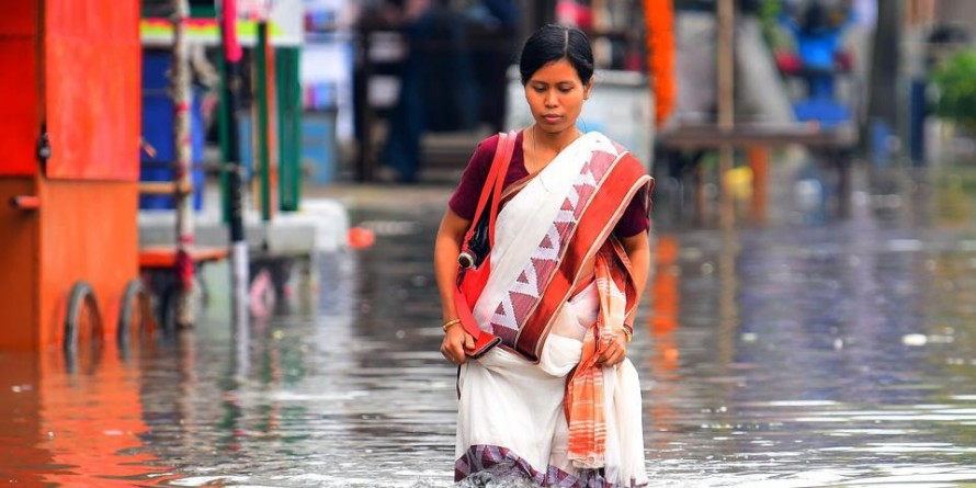 9 injured, over 1,000 homeless after flood and thunderstorms in Tripura