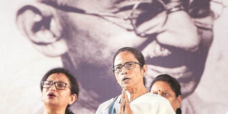 Leaders Should Follow Gandhi's Principles: Mamata Banerjee