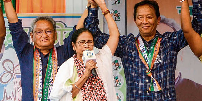 BJP may have tacit support of Gorkhas in Darjeeling