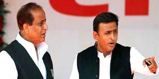 आजम के बचाव में आगे आए अखिलेश, पार्टी का आरोप- राजनीतिक द्वेष के चलते किया जा रहा प्रताड़ित